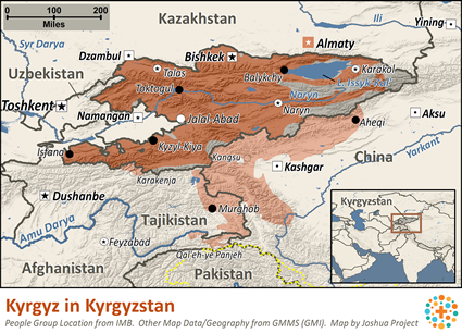 Unreached people 164 kyrgyz in kyrgyzstan gps home for 10 40 window joshua project