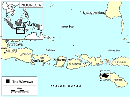 Wewewa in Indonesia