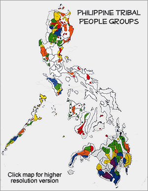 Manobo, Blit of Philippines map